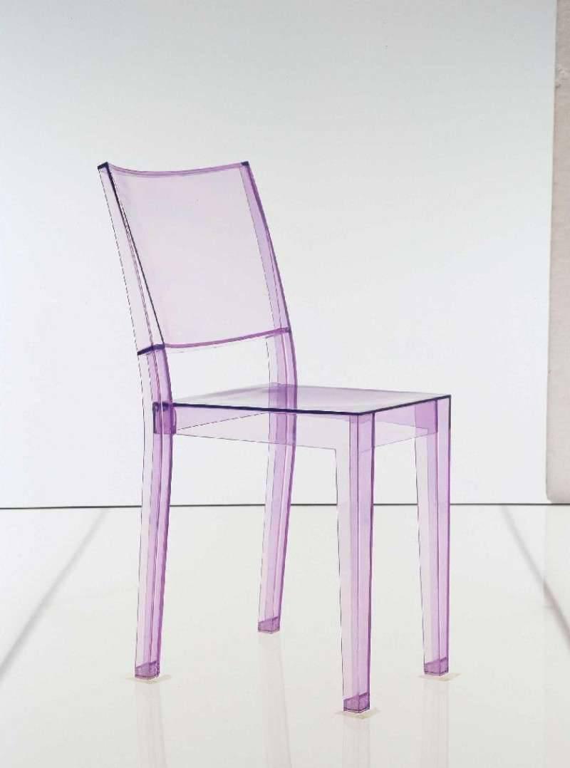 Kartell La Marie Stuhl-violett transparent - Lagerabverkauf - Kaufen ...