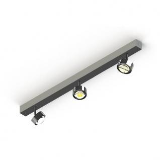 Top Light Puk Choice Turn Deckenleuchte 3 Köpfe