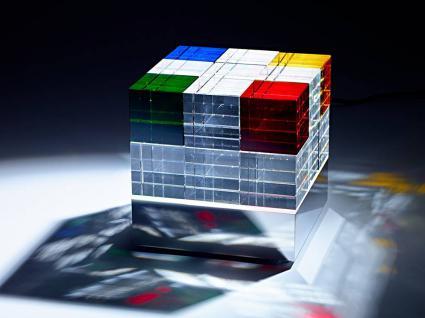 Tecnolumen Cubelight MSCL1 / MSCL2 Tischleuchte