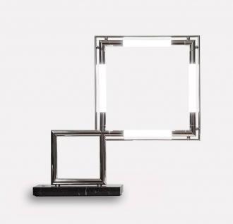 Lumen Center Italia Quadro VII Re-Edition LED Tischleuchte