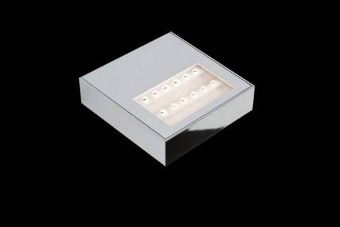 Nimbus Air Maxx LED 130 Wandleuchte mit Konverter- beidseitig strahlend, Chro...
