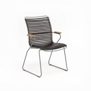 Houe Click Stuhl mit Armlehne - hohe Rückenlehne - Vorschau 5