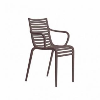 Driade Pip-e Stuhl mit Armlehne - Vorschau 5