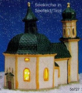Lichtkirche KIRCHE SEEFELD in TIROL ÖSTERREICH