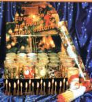 Streichhölzer in weihnachtlicher Dose
