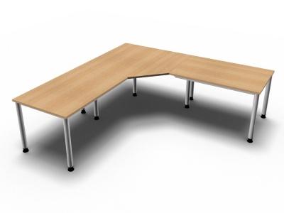 Schreibtischkombination H7 - Vorschau 4
