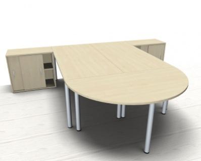 Doppelarbeitsplatz GVA Schreibtischkombination - Vorschau 3
