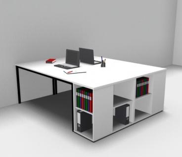 Doppelarbeitsplatz DH2 mit Anstellcontainern - Vorschau 4
