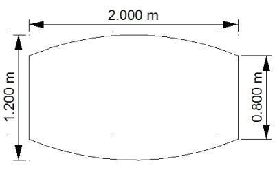 Konferenztisch Mega 200 cm Fassform mit Tellerfüßen vh-bueromoebel Meetingtisch - Vorschau 3