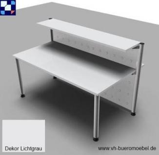 Empfangstheke gerade 172 cm Empfangstresen Bürotheke Büromöbel - Vorschau 2