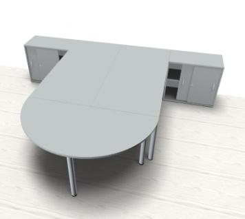 Doppelarbeitsplatz GVA Schreibtischkombination - Vorschau 2