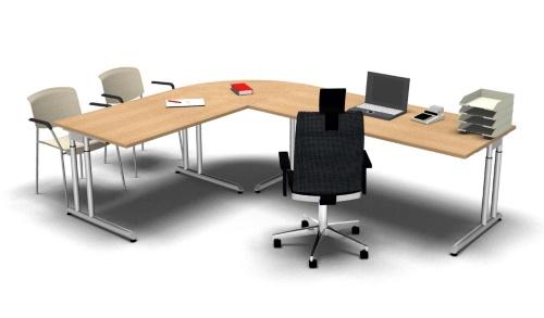 Schreibtischkombination Z6