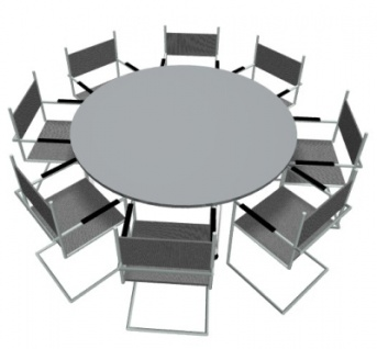 Konferenztisch Koln Rund Durchmesser 160 Cm Besprechungstisch