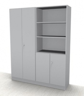 Büro Schrankwand Klassik 3 Aktenschrank Büroschrank - Vorschau 3