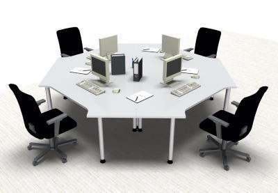 Teamarbeitsplatz CT1 Callcenter-Arbeitsplatz für 4 Personen