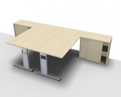Doppelarbeitsplatz GD16 Schreibtischkombination - Vorschau 4
