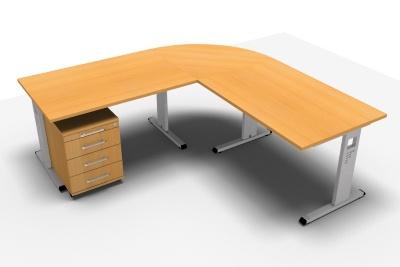 Schreibtischkombination Offenbach O200 - Vorschau 3