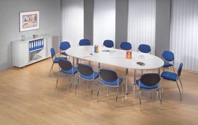 Konferenztisch Köln gerundet 320 x 160 cm Meetingtisch