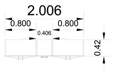 Büro Schrankwand Multi 3 Aktenschrank Büroschrank - Vorschau 4