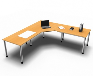 Schreibtischkombination H7