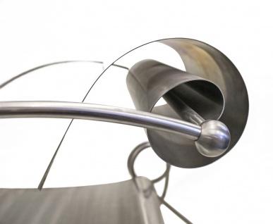 Designersessel Edelstahl / Modell Looping - Vorschau 4