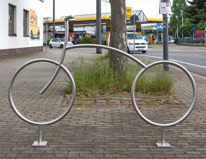 Fahrradanlehnbügel, Fahrradbügel - kreatives Design - Vorschau 2