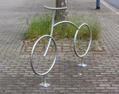 Fahrradanlehnbügel, Fahrradbügel - kreatives Design