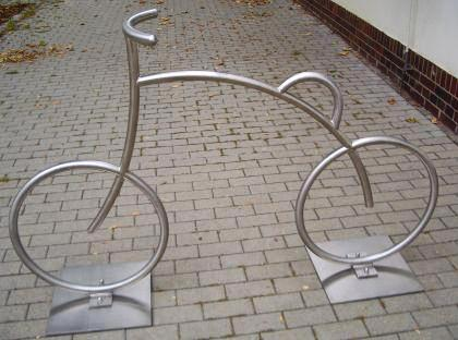 Fahrradanlehnbügel, Fahrradbügel - kreatives Design - Vorschau 4
