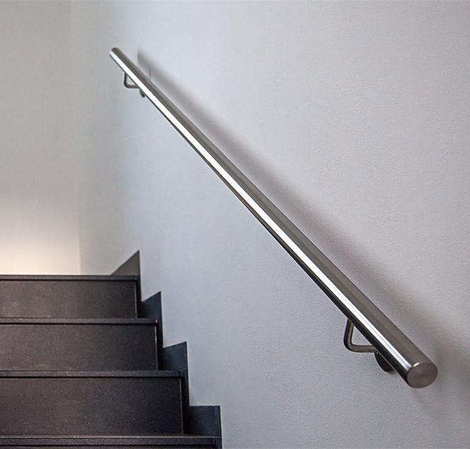handlauf edelstahl d 33 jede l nge lieferbar kaufen bei hollstein gmbh. Black Bedroom Furniture Sets. Home Design Ideas