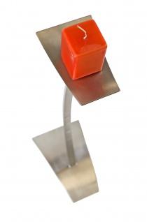 Kerzen-Bodenständer Edelstahl Höhe 85 cm - Vorschau 3