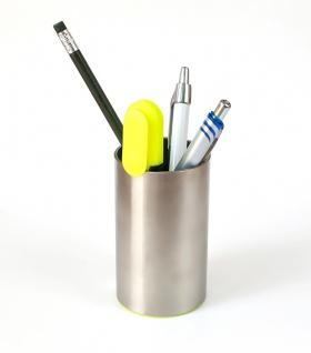 Stifthalter rund aus Edelstahl - Vorschau 1