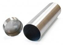 Zeitkapsel Edelstahl D = 100 mm oder 150 mm - optional mit Gravur