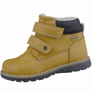Be Mega Jungen Synthetik Winter Tex Boots camel, molliges Warmfutter, Fußbett, 3237131