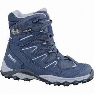 Meindl Winter Storm Junior Velour Mesh Kinder Boots marine, Webpelzfutter, Nässeschutz-Futter, 4537119/38