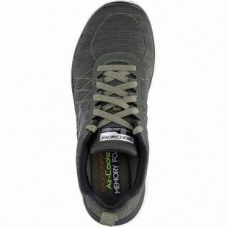 Skechers Flex Advantage 2.0 Chillston coole Herren Synthetik Sneakers oliv, Air-Cooled Memory Foam-Fußbett, 4241151/44 - Vorschau 2