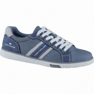 TOM TAILOR sportliche Herren Synthetik Sneakers jeans, TOM-TAILOR Laufsohle, 2138130/41
