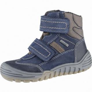 Richter Jungen Winter Leder Tex Boots atlantic, Warmfutter, warmes Fußbett, mittlere Weite, 3739201