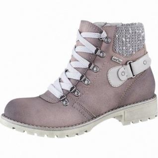 Jana modische Damen Leder Imitat Winter Boots rosa, Extra Weite H, Tex Ausstattung, Warmfutter, warme Decksohle, 1741172