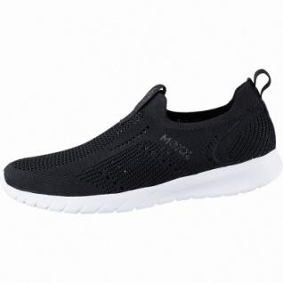 MEXX coole Damen Strick Sneakers black, herausnehmbares Fußbett, 1242179/37 - Vorschau 1