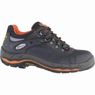 Grisport Pordoi Herren Leder Sicherheits Schuhe black, DIN EN ISO 20345, ölresistent, 5537101