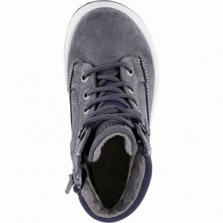 Superfit Jungen Winter Leder Gore Tex Boots grau, 7 cm Schaft, Warmfutter, warmes Fußbett, mittlere Weite, 3741143 - Vorschau 2
