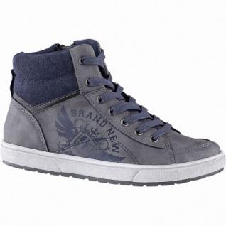 Indigo Jungen Synthetik Winter Boots grey, molliges Warmfutter, warmes Fußbett, 3741197/35