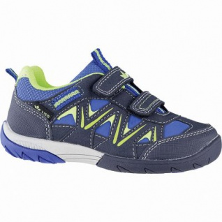 Lico Loader V Blinky Jungen Synthetik Sneakers blau, Textilfutter, auswechselbare Textileinlegesohle, 3342106/25