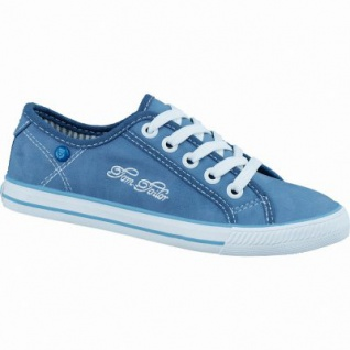 TOM TAILOR sportliche Mädchen Synthetik Sneakers jeans, Tom-Tailor-Decksohle, 3336124/31