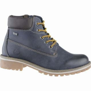 Indigo coole Mädchen Winter Synthetik Tex Boots navy, Warmfutter, warmes Fußbett, 3739166/36