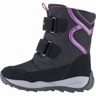 Geox Mädchen Synthetik Winter Amphibiox Boots black, 13 cm Schaft, molliges Warmfutter, warmes Fußbett, 3741112/27 - Vorschau 2