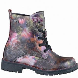 Indigo coole Mädchen Synthetik Tex Stiefel brown flower, leichtes Warmfutter, warmes Fußbett, 3737174