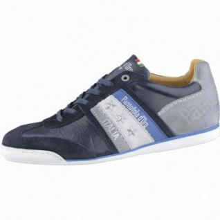 Pantofola d Oro Imola Uomo Low Herren Leder Sneakers dress blues, Lederfutter, 2138203/41