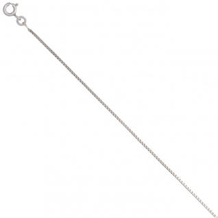 Venezianerkette 333 Weißgold 0, 9 mm 50 cm Gold Kette Halskette Weißgoldkette