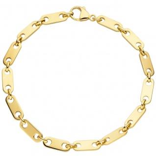 Armband 585 Gold Gelbgold 21 cm Goldarmband